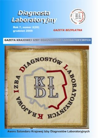 Diagnosta Laboratoryjny - Rok 7, Numer 2 (20) - grudzień  2009 r.