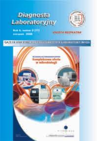 Diagnosta Laboratoryjny - Rok 6, Numer 2 (17) - sierpień  2008 r.
