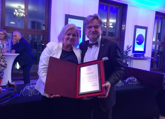 Prezes KRDL Alina Niewiadomska wzięła udział w uroczystościach z okazji 100-lecia Służb Sanitarnych w Polsce.