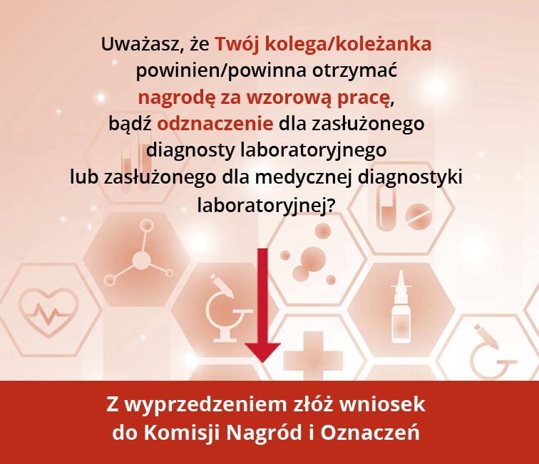 27 maja obchodzimy Dzień Diagnosty Laboratoryjnego. Jak co roku odbędą się uroczystości, na których będą wręczane nagrody i odznaczenia.