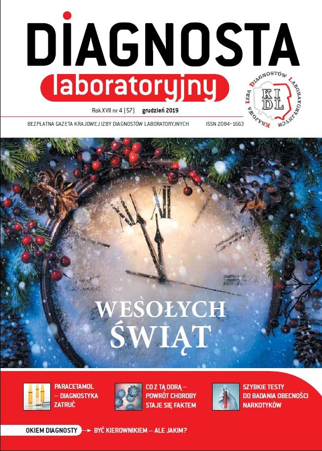 Diagnosta Laboratoryjny - Rok XVII, numer 4 (57), grudzień 2019