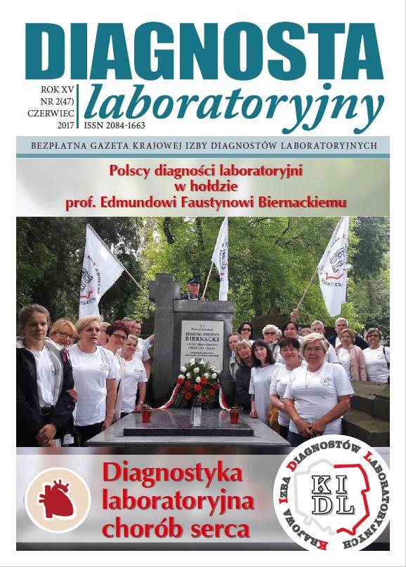 Diagnosta Laboratoryjny -  Rok XIV, numer 2 (47), czerwiec 2017