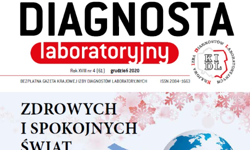 """Już jest nowy numer """"Diagnosty Laboratoryjnego"""" w wersji elektronicznej."""
