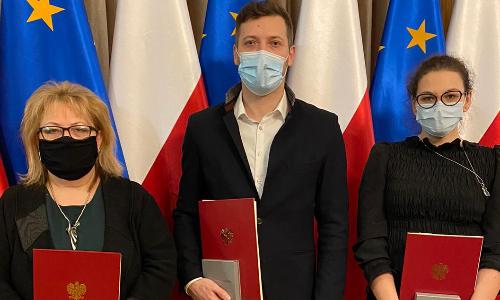 Diagności laboratoryjni uhonorowani  Medalami 100-lecia Odzyskania Niepodległości.