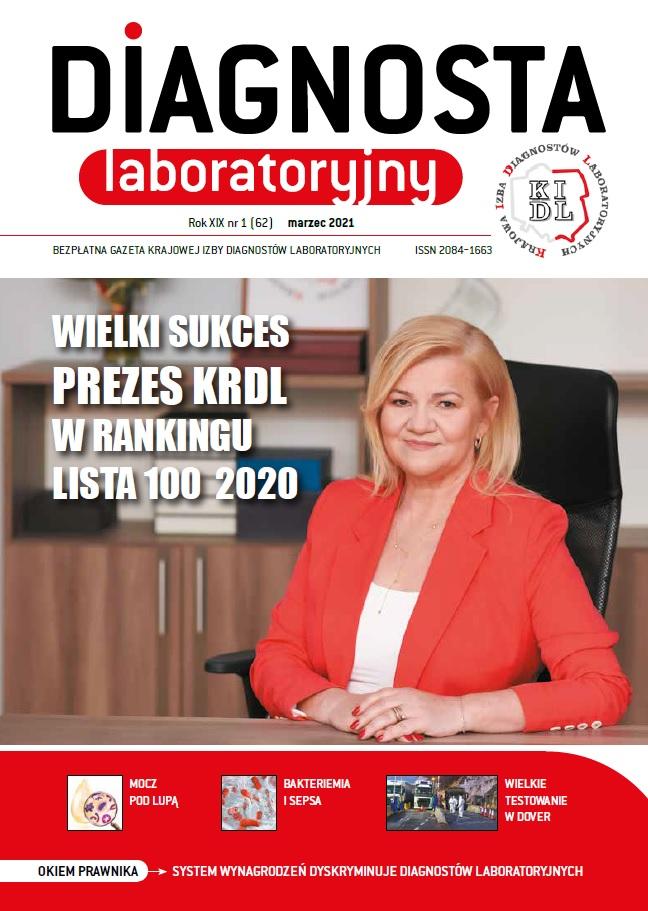 Diagnosta Laboratoryjny - Rok XIX, numer 1 (62), marzec 2021