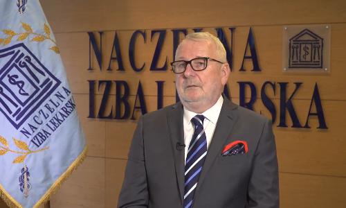 Zachęcamy do obejrzenia życzeń, które w  Światowym Dniu Zdrowia złożył medykom prezes NIL prof. Andrzej Matyja: