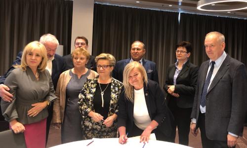 Wspólne porozumienie zawodów medycznych, pracodawców i osób związanych z funkcjonowaniem i działalnością ochrony zdrowia.