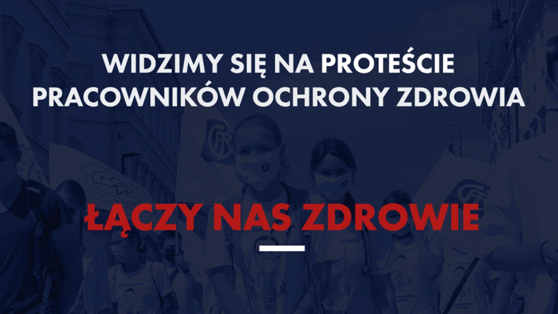 Przypominamy i zapraszamy - 11 września br. odbędzie się protest pracowników ochrony zdrowia.
