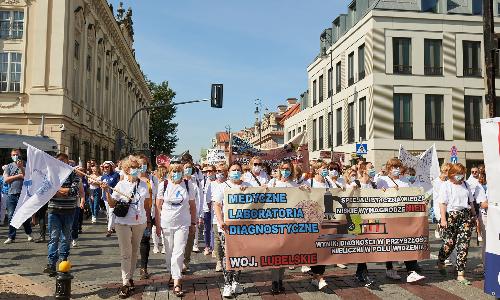 11 września zainagurowano Protest Pracowników Ochrony Zdrowia. Dziękujemy - byliśmy tam razem!