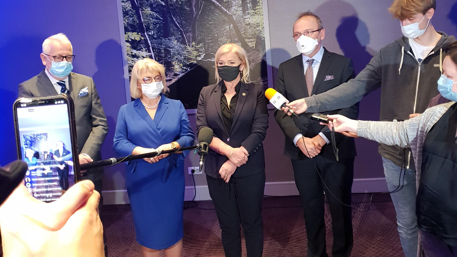 W Warszawie odbyła się wspólna konferencja prezesów medycznych samorządów zawodowych.